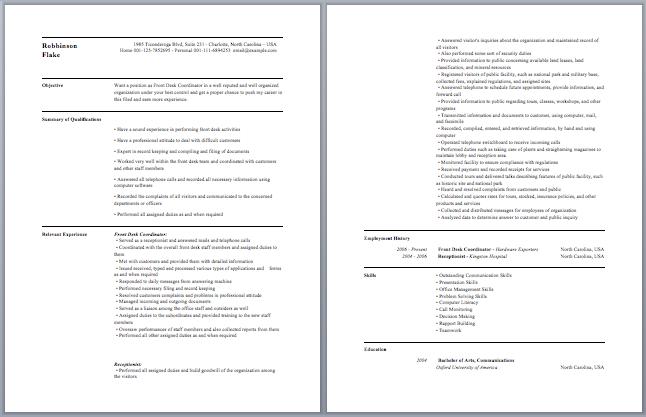 office coordinator resume sample create my resume marketing