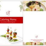 Venue Catering Menu Template