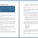 Reseller Contract Template