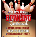 Bowling Game Flyer Templates
