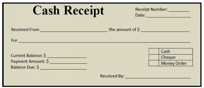 59 Free Receipt Templates Cash Sales Donation Rent Payment – Payment Receipts