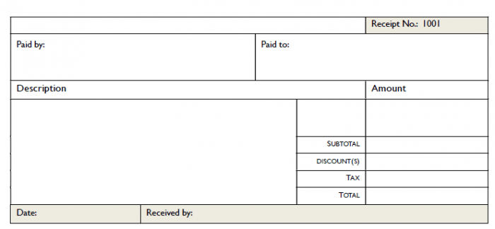 Here Is Download Link For This General Purpose Receipt Template,  Purchase Receipt Template