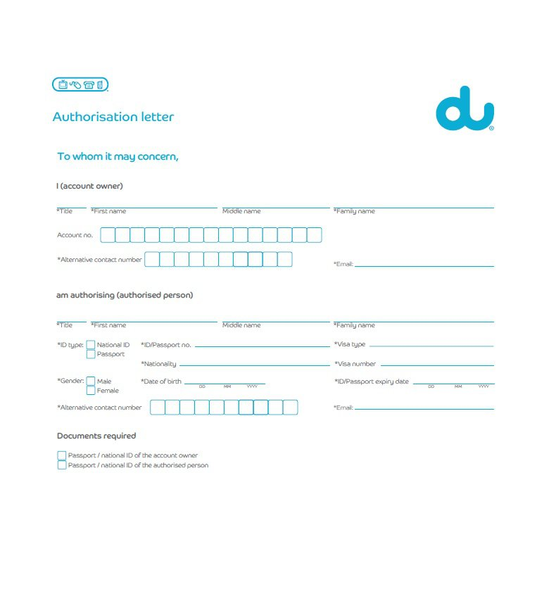 46 Free Authorization Letter Samples & Templates – Free Template