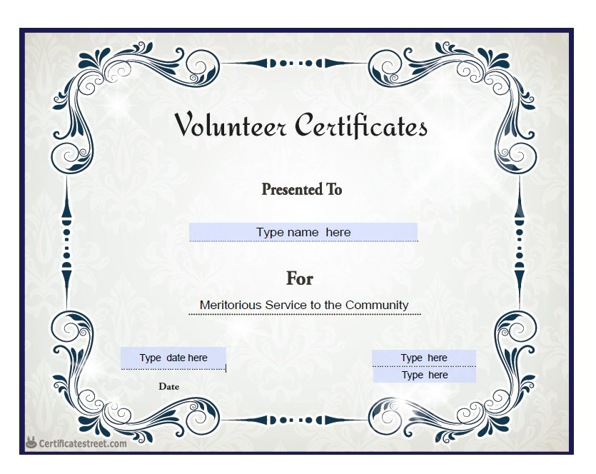 Templates For Award Certificates