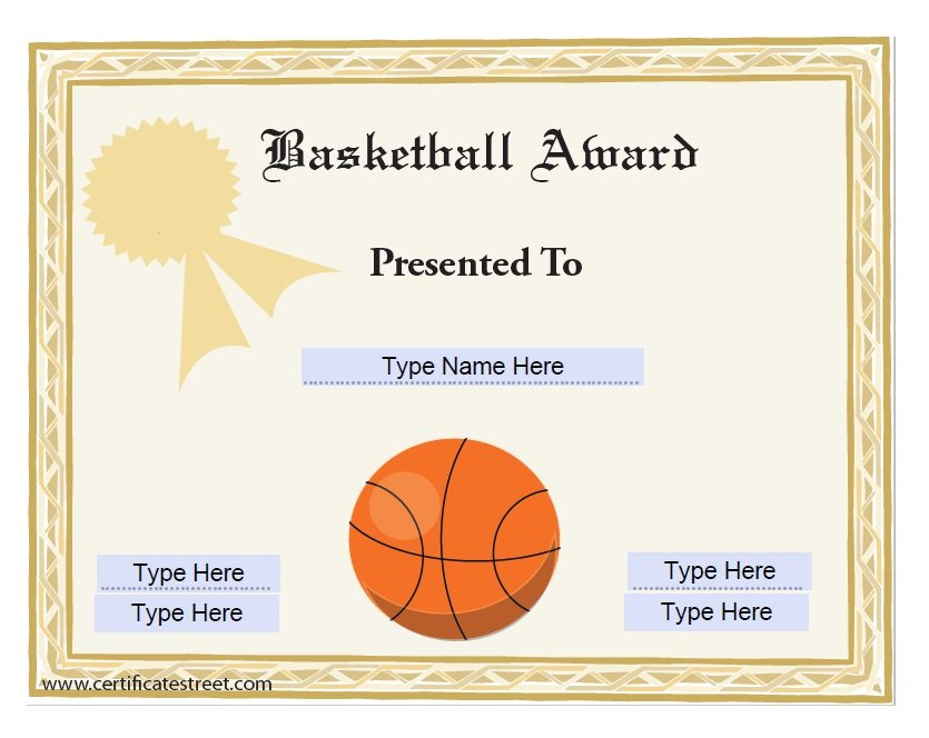 Free Amazing Award Certificate Templates  Free Template Downloads