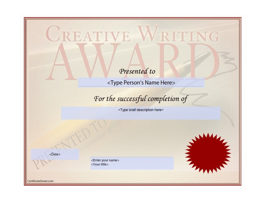 50 free amazing award certificate templates free for Free award certificates templates to download