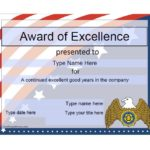 50 Free Amazing Award Certificate Templates