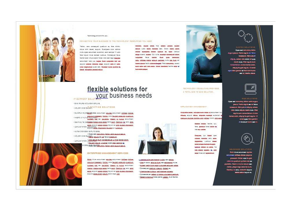 31 free brochure templates ms word and pdf free for How to design a brochure in word