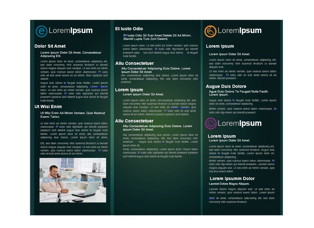 brochure samples templates 31 free brochure templates ms word and pdf free