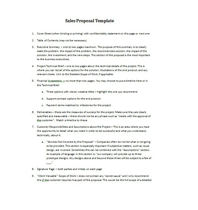 36 Free Business Proposal Templates Proposal Letter Samples Free