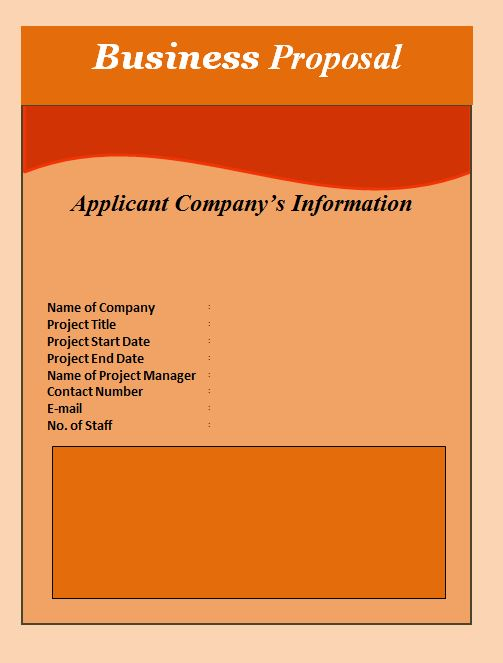 36 Free Business Proposal Templates Proposal