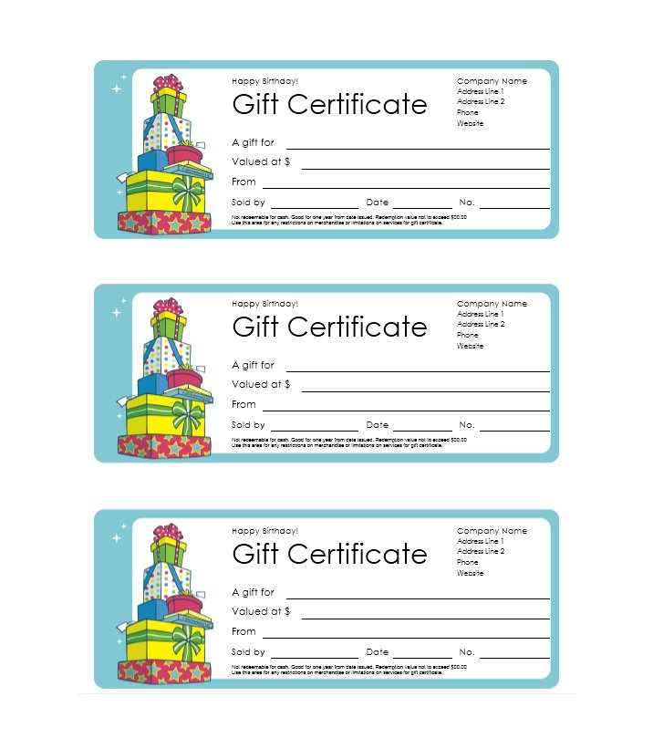 41 free gift certificate templates free template downloads for Downloadable gift certificate templates
