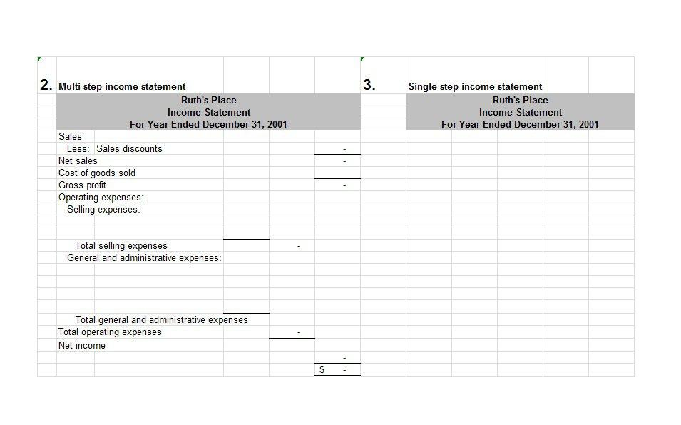 27 free income statement examples templates single for 3 year income statement template