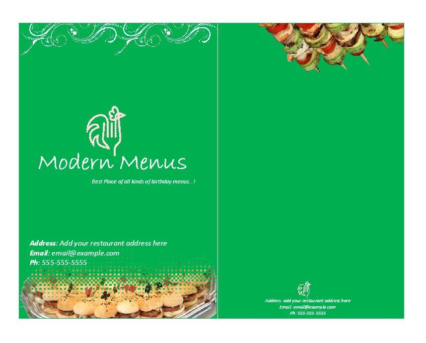 31 Free Restaurant Menu Templates Designs Free Template Downloads