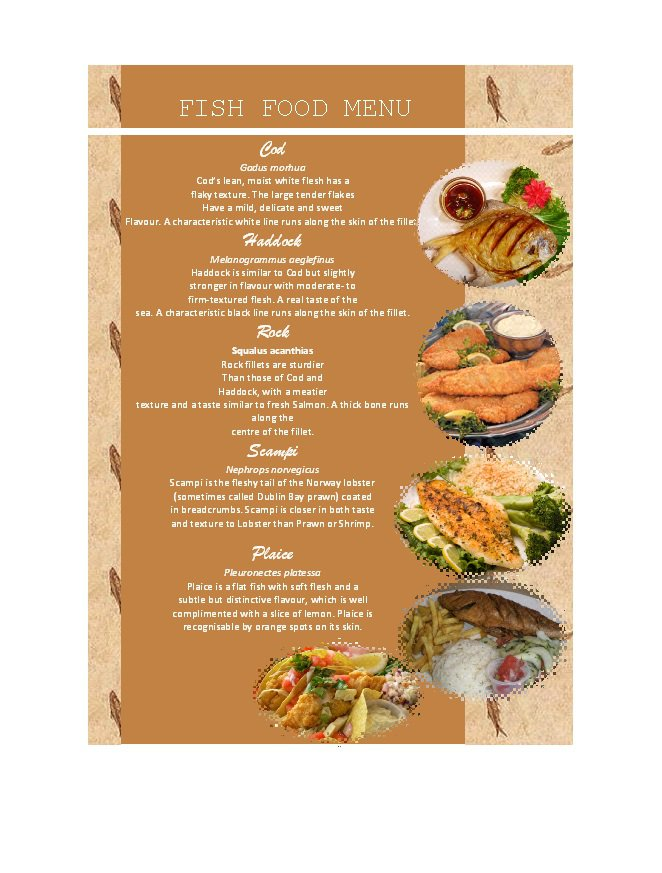 Wonderful A La Carte Menu Template. 31 Free Restaurant Menu Templates Designs Free  Template Downloads . A La Carte Menu Template With A La Carte Menu Template