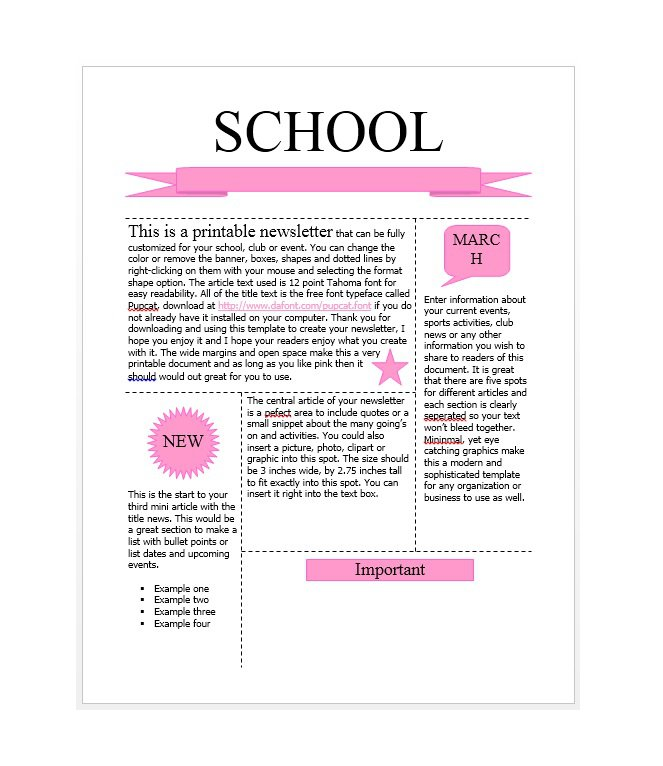 newsletter-template-34