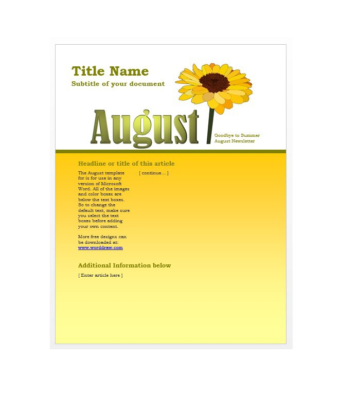 newsletter-template-41