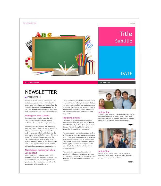 newsletter-template-44