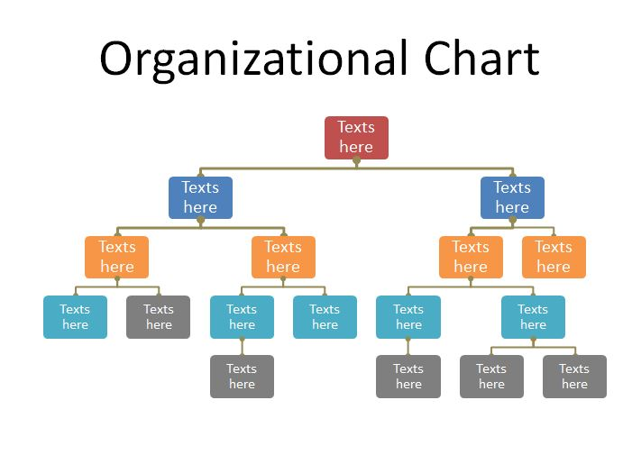 40 free organizational chart templates word excel for Html organization chart template