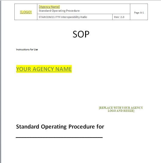 Standard Operating Procedure Template] 37 Best Standard Operating ...