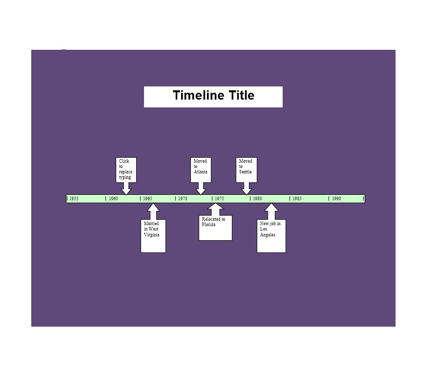 33 Free Timeline Templates (Excel, Power Point, Word) – Free