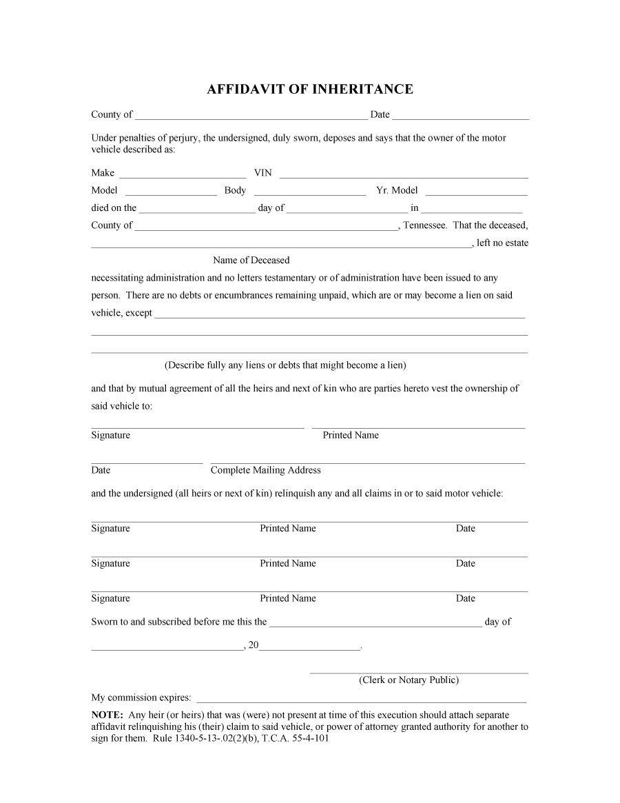 Doc564772 Affidavit Template Affidavit Form template 80 – General Affidavit Sample