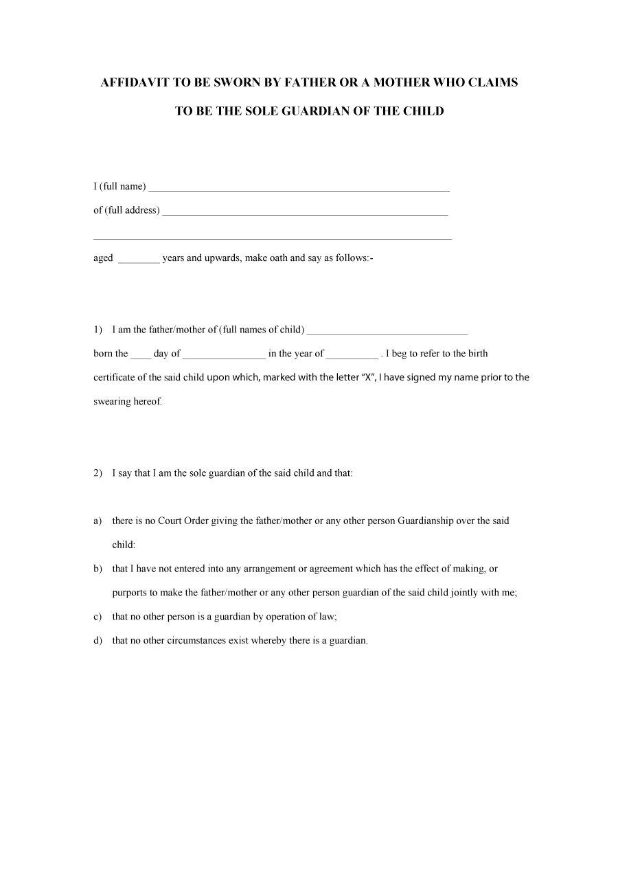 affidavit-form-33