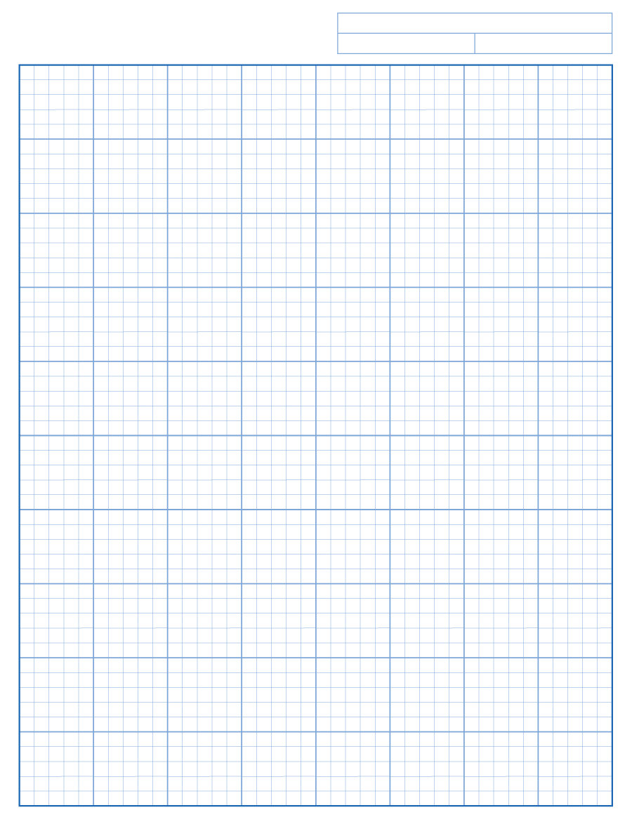 33 Free Printable Graph Paper Templates Word PDF Free – Math Grid Paper Template