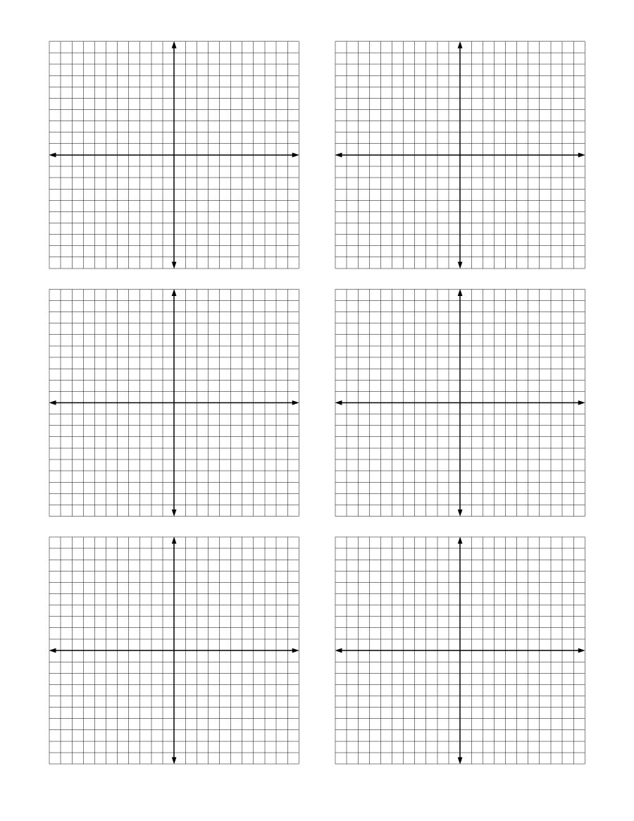 Graph Paper Template 07  Printable Blank Graph Paper