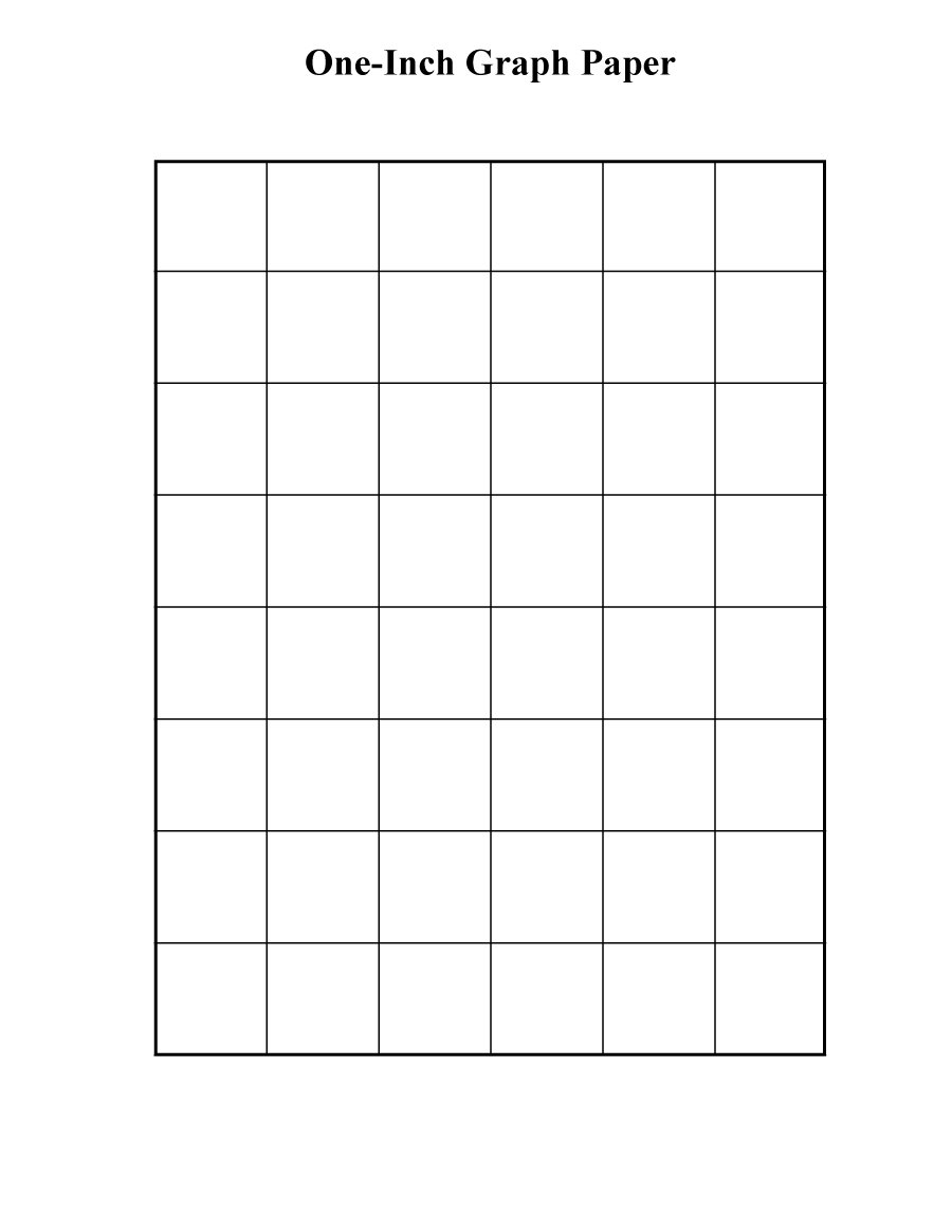 33 Free Printable Graph Paper Templates (Word, PDF) – Free ...