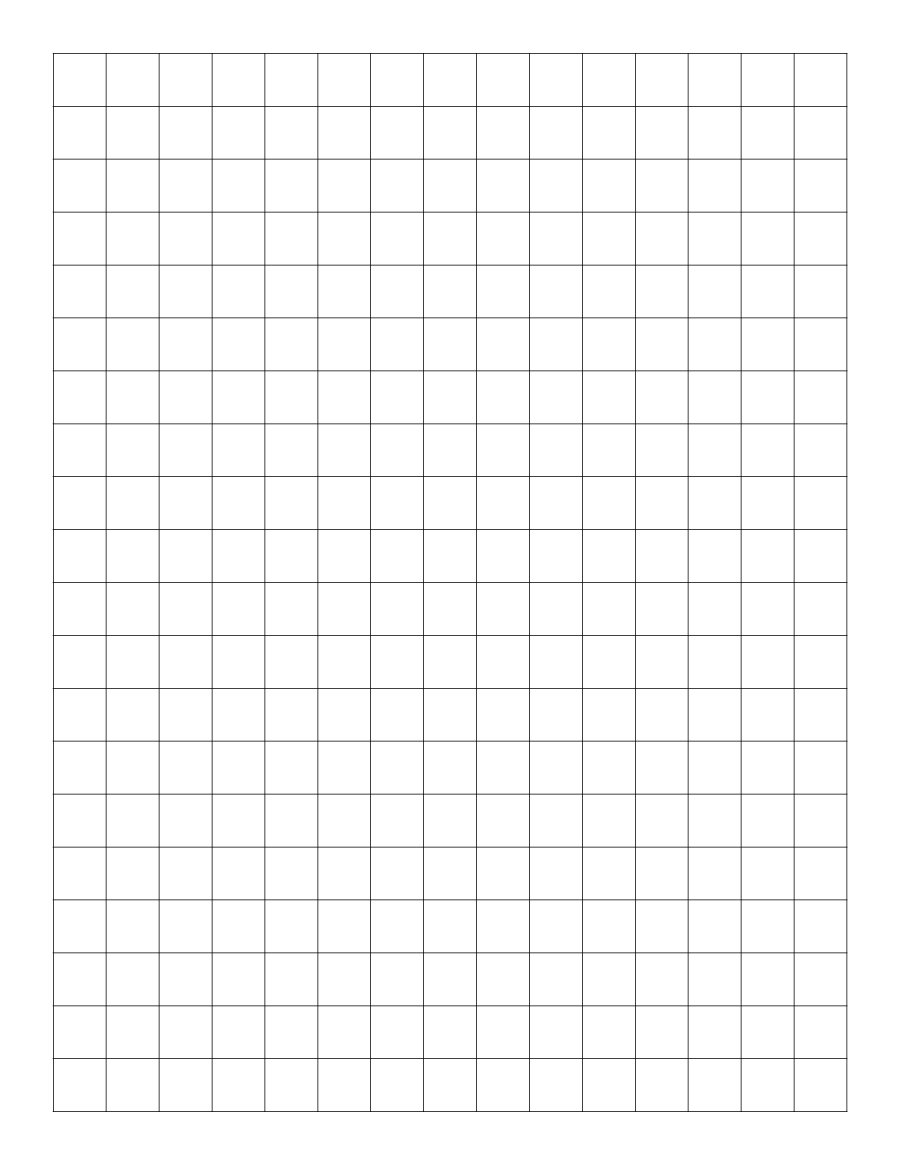 Graph Paper Template Microsoft Word