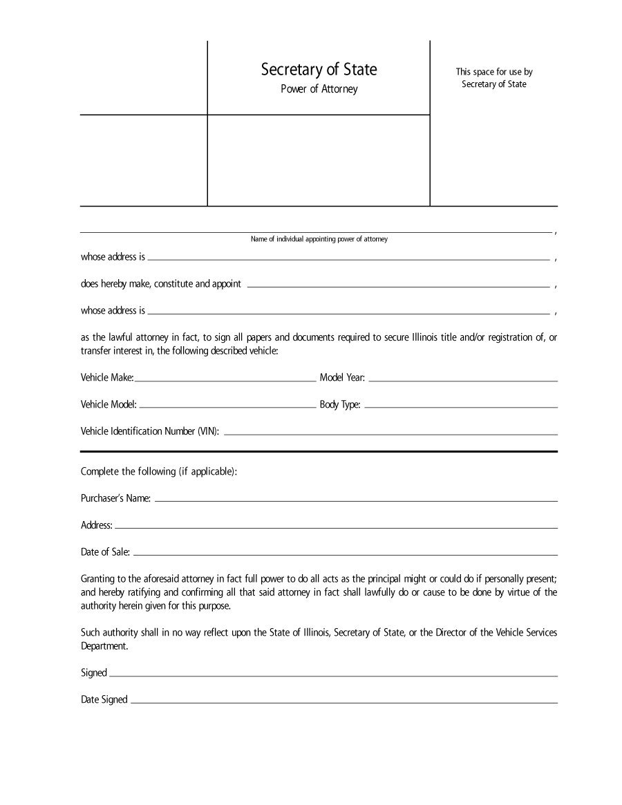 50 free power of attorney forms  u0026 templates  durable  medical