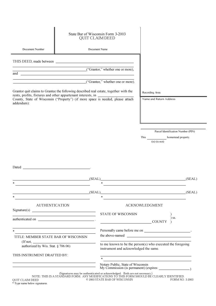 47 free quit claim deed forms templates free template With quit claim deed template free download
