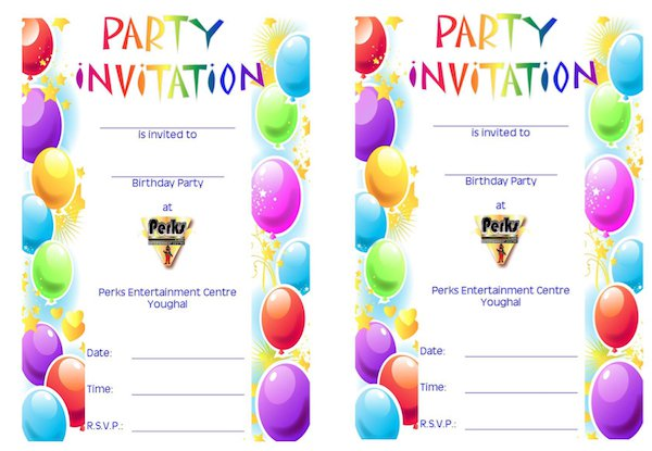 Birthday Invitation Template 39