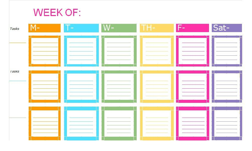 Free Printable To Do List  Checklist Templates Excel  Word