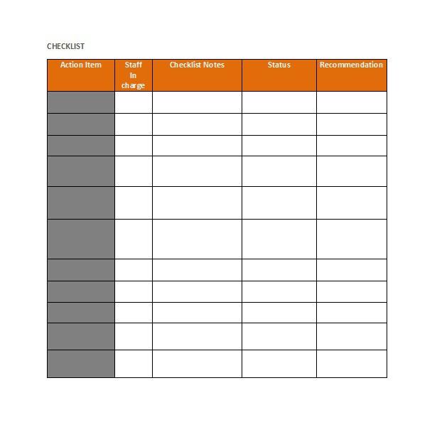 checklist-template-14w