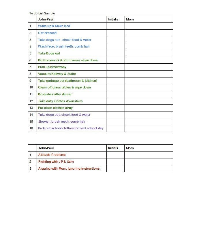 checklist-template-40
