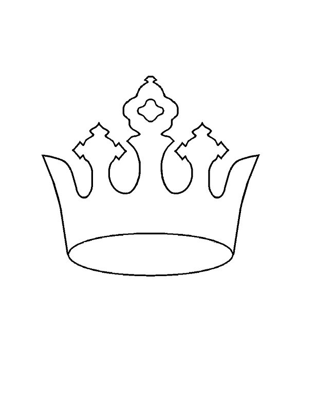 45 free paper crown templates free template downloads for Tiara template printable free