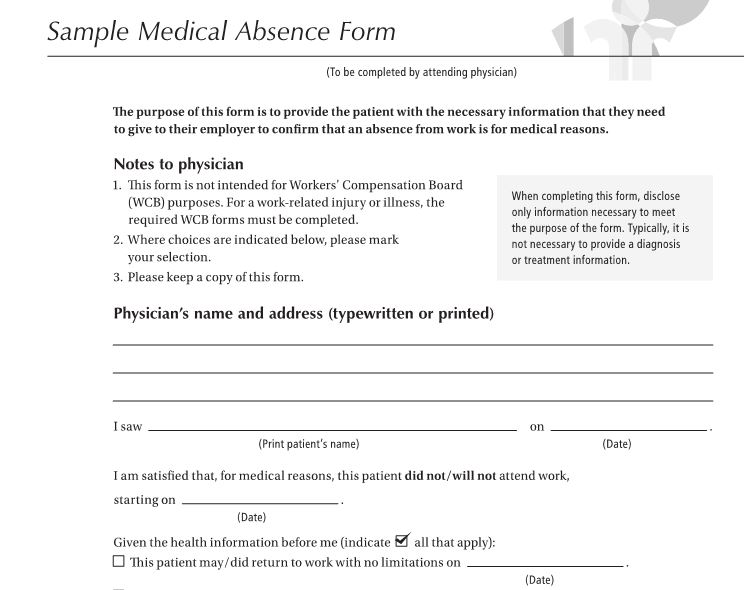 sample medical letter from doctor to employer