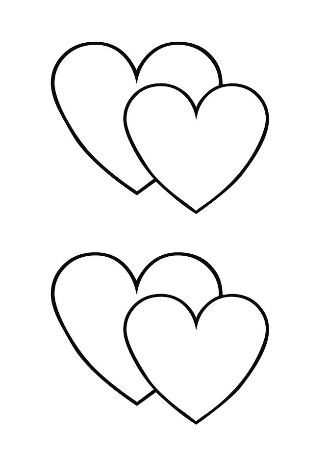 Accomplished image with regard to printable heart shape