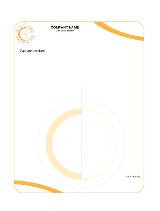 46 Free Letterhead Templates Examples Free Template