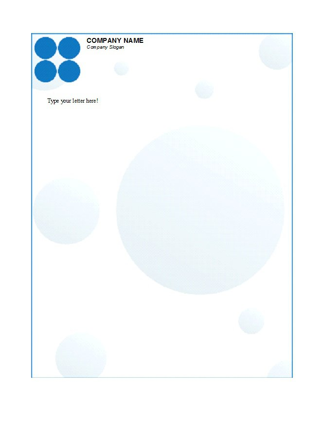 Letterhead Template 07  Business Letterhead Template Free