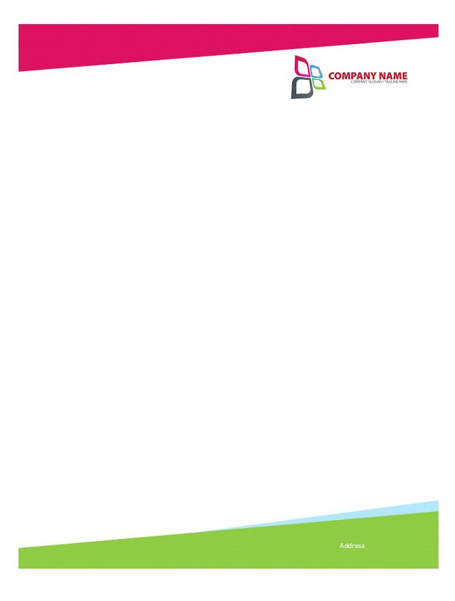 46 free letterhead templates examples free template for Headed letter template word