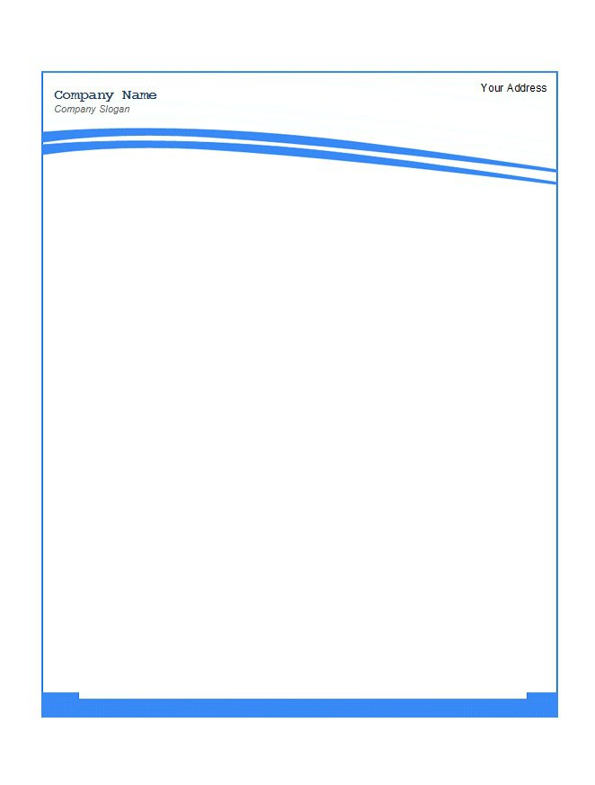 Business letterhead templates for mac 28 images for Free letterhead templates for mac
