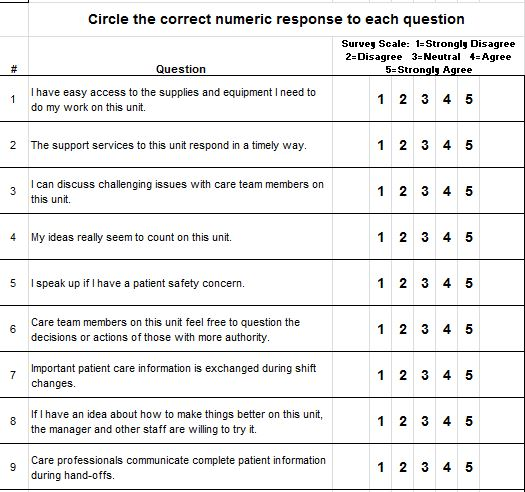 30 Free Likert Scale Templates & Examples – Free Template Downloads