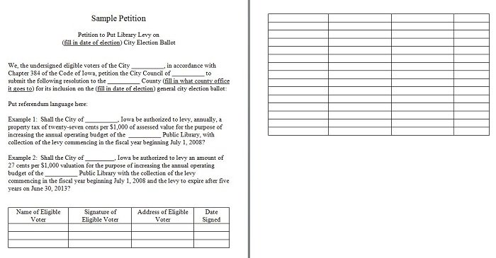 30 free petition templates how to write petition guide for Template for petition signatures