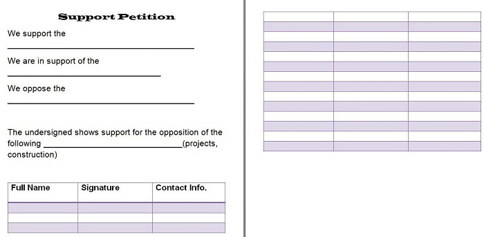 petition-template-25