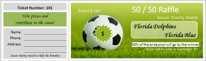 Raffle Ticket Templates 01 E1445561171469  Movie Ticket Template Free