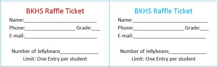 raffle ticket templates 13