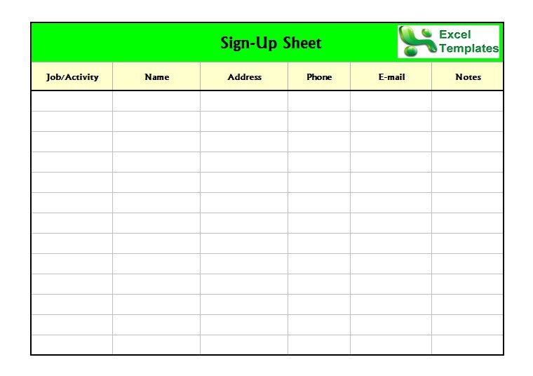 Microsoft Sign Up Sheet Template from www.freetemplatedownloads.net